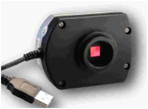 Câmera USB para microscópio