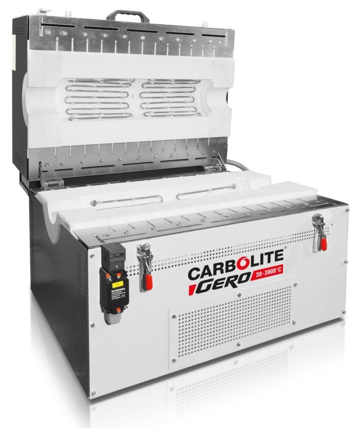 Forno Tubular Bipartido até 1300°C Carbolite-Gero FST/ FZS