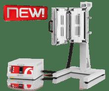 Forno Tubular Compacto Vertical Bipartido Carbolite-Gero EVT/EVZ 1