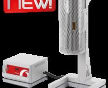 Forno Tubular Compacto Vertical Carbolite-Gero EVA/EVC 1
