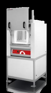 Forno de Camara de Alta Temperatura Laboratorial Carbolite-Gero HTF_suporte