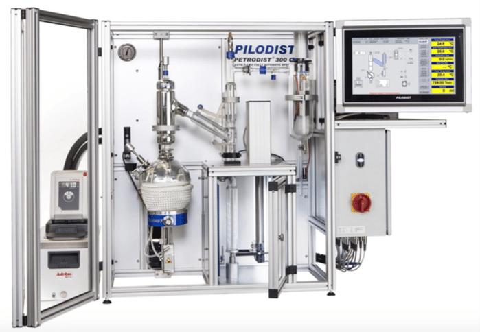 Pilodist lança nova versão do sistema automatizado de destilação atendendo a norma ASTM D-1160