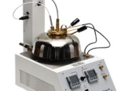 Medidor de Ponto de Fulgor semiautomático método Pensky-Martens Normalab NPM 221