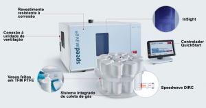 Digestor de amostras por micro-ondas Berghof Speedwave Entry imagem 2