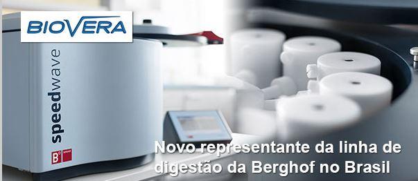 Biovera apresenta linha de digestão por micro-ondas da Berghof