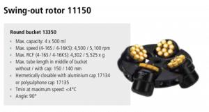 Centrífugas Sigma 4-16S, 4-16KS e 4-16KHS 4