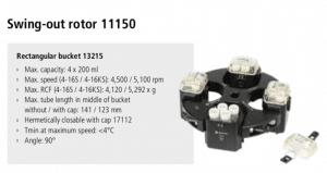 Centrífugas Sigma 4-16S, 4-16KS e 4-16KHS 5