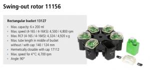 Centrífugas Sigma 4-16S, 4-16KS e 4-16KHS 8