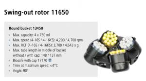 Centrífugas Sigma 4-16S, 4-16KS e 4-16KHS 2