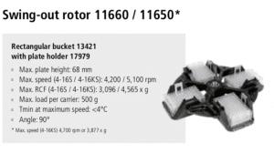 Centrífugas Sigma 4-16S, 4-16KS e 4-16KHS 12