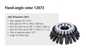 Centrífuga Sigma 2-16P, 2-16 KL e 2-16 KHL 9