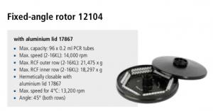 Centrífuga Sigma 2-16P, 2-16 KL e 2-16 KHL 8