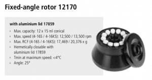 Centrífugas Sigma 4-16S, 4-16KS e 4-16KHS 16