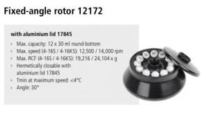 Centrífugas Sigma 4-16S, 4-16KS e 4-16KHS 19
