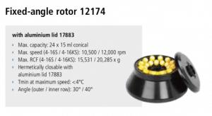 Centrífugas Sigma 4-16S, 4-16KS e 4-16KHS 18