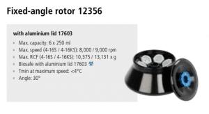 Centrífugas Sigma 4-16S, 4-16KS e 4-16KHS 23