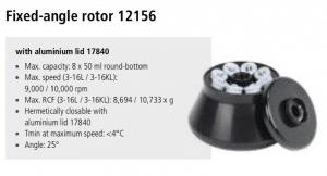 Centrífuga Sigma 3-16L e 3-16 KL rotor 12156 imagem 10