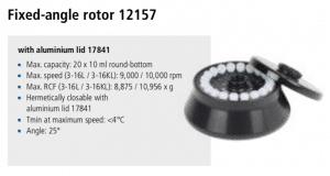 Centrífuga Sigma 3-16L e 3-16 KL rotor 12157 imagem 9