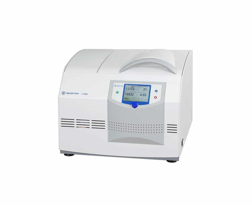 Ultracentrífuga de Bancada Sigma 3-30KS e 3-30KHS
