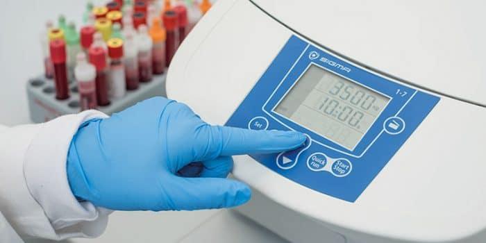 A Sigma é um fabricante líder mundial na produção de centrífugas para laboratório.