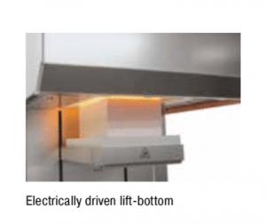 Forno Mufla de alta temperatura com carregamento inferior Nabertherm até 1700°C 1