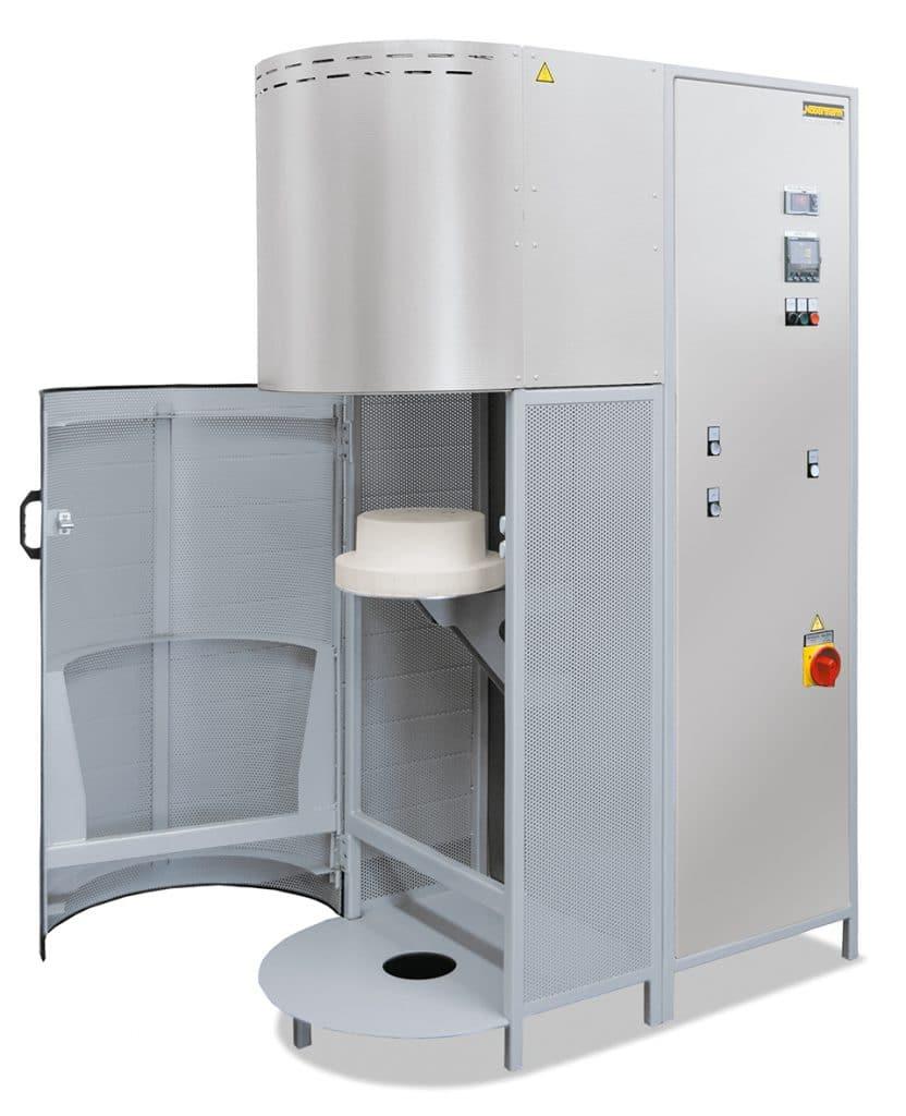 Forno Mufla de alta temperatura com carregamento inferior Nabertherm até 1700°C