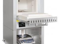 Forno Mufla para determinação das perdas por calcinação Nabertherm até 1.200°C