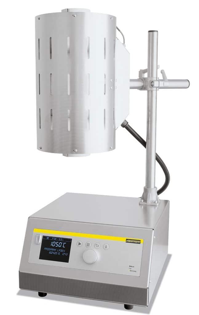 Forno tubular com tripé Nabertherm até 1.500°C 1