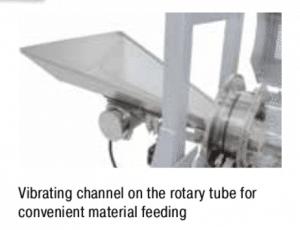 Forno Tubular rotatório Nabertherm para produção contínua 2