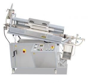 Forno Tubular rotatório Nabertherm para produção contínua 5