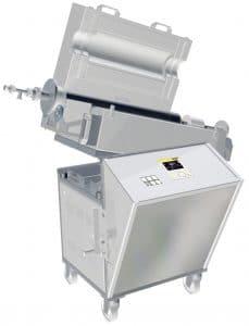 Forno Tubular rotatório Nabertherm para produção em lote 3