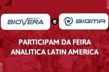 Biovera e Sigma participam da Feira Analitica Latin America 2019