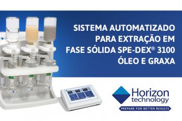 Sistema automatizado para extração em fase sólida Horizon SPE-DEX® 3100 Óleo e Graxa