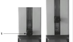 Imagem 11 – Sistema de proteção contra quebra da vidraria