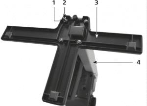 Como montar e ajustar um rota – Fixação do pé imagem 2