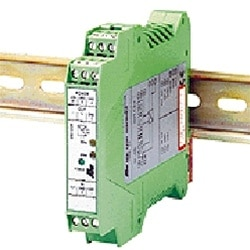 Imagem ilustrativa de um módulo eletrônico DIN Rail