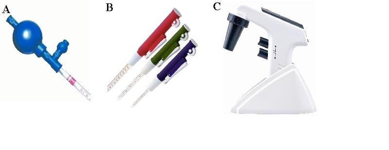 Diferença entre pipeta, pipetador e micropipeta