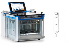 Extração de semivoláteis orgânicos em águas residuais TurboVap I