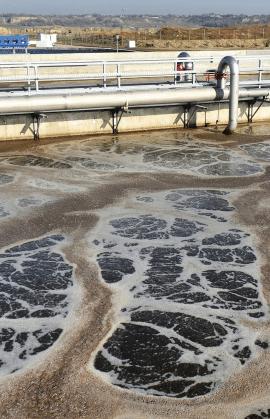 Extração de semivoláteis orgânicos em águas residuais