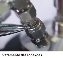Teste de vazamento em reatores de alta pressão 1