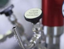 vazamento do tubo da vávula - reator de alta pressão Berghof Highpreactor.