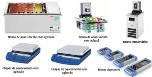 Equipamentos digestão de amostra por aquecimento
