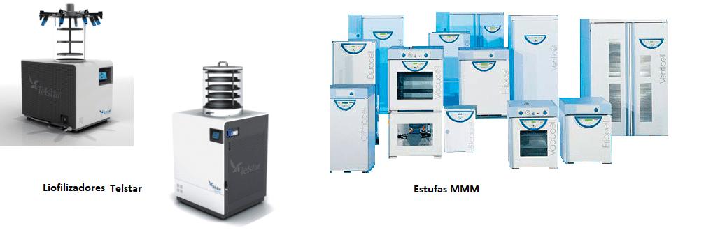 Liofilizadores e estufas