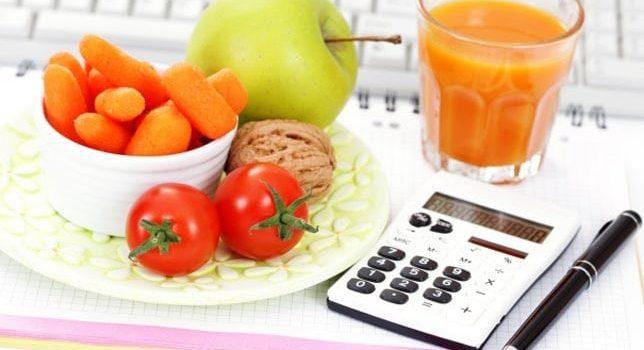 Como se calcula a caloria dos alimentos?