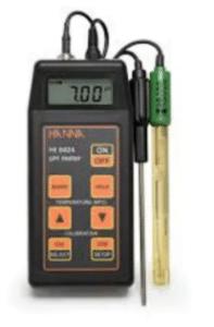pHmetro portátil